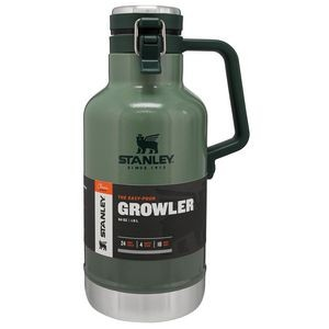 Stanley® PMI Easy Pour Growler, 64 Oz., Hammertone Green